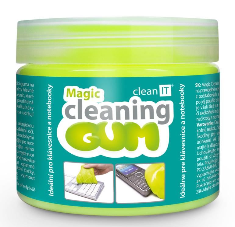 CLEAN IT Magic Cleaning Gum,pročištění klávesnic a nerovných povrchů