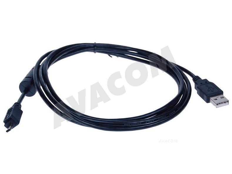 AVACOM USB 2.0 kabel - 8pin Panasonic, Nikon UC-E6, Nikon UC-E16, 1,8m