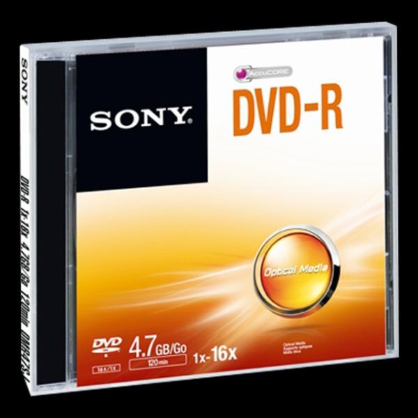 SONY DVD-R 4,7GB Jewel case