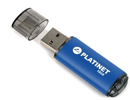 PLATINET PENDRIVE USB 2.0 X-Depo 16GB modrý