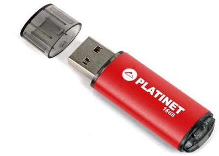 PLATINET PENDRIVE USB 2.0 X-Depo 16GB červený