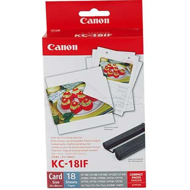 Canon KC18IF (Full sized label) 18 ks
