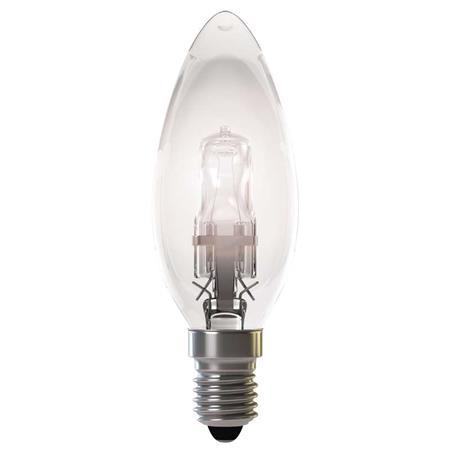 Emos Halogenová žárovka CANDLE, 18W/24W E14, teplá bílá, 205 lm, Classic C