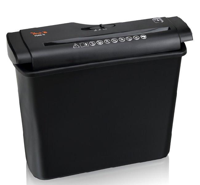 PEACH skartovač Strip Cut Shredder PS400-15, 6 listů/8L/72dB/příčný