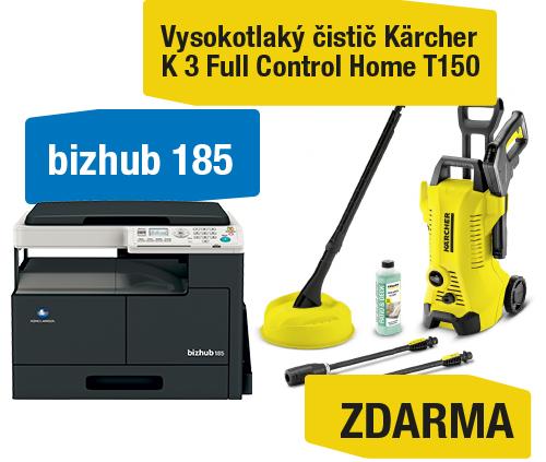AKCE Konica Minolta Bizhub 185 + Kärcher vysokotlaký čistič K 3 Full control Home