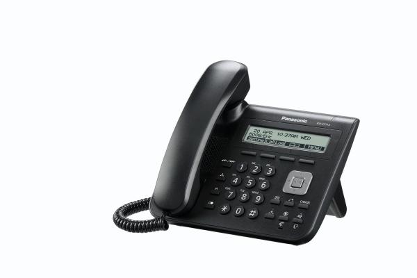 Panasonic KX-UT113NE-B, stolní IP telefon, černý
