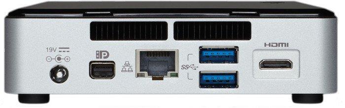 INTEL NUC Rock Canyon/Kit NUC5i3RYK/Ii3 Core 5010U Broadwell,2.1GHZ/DDR3L1600/USB3.0/LAN/WiFi/HD5500/M.2