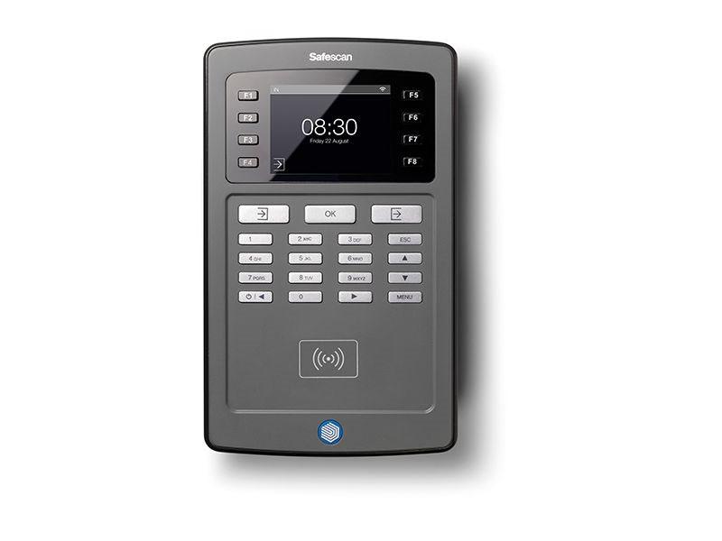 Docházkový systém SAFESCAN TA-8015 Wi-Fi Šedá