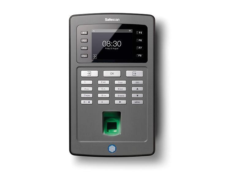 Docházkový systém SAFESCAN TA-8035 Wi-Fi Černá