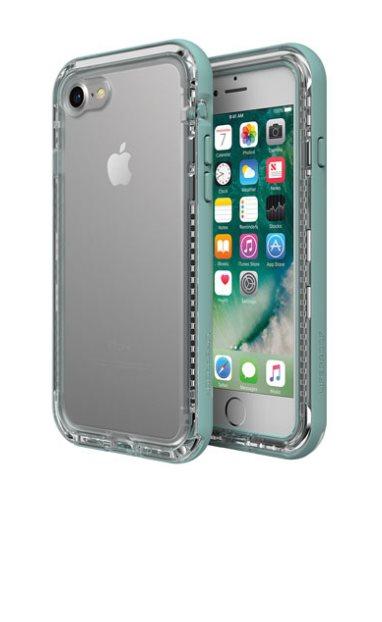 LifeProof Next ochranné pouzdro pro iPhone 7/8 průhledné - světlezelená
