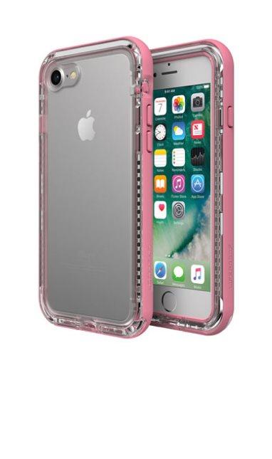 LifeProof Next ochranné pouzdro pro iPhone 7/8 průhledné - růžové