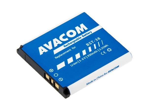 Náhradní baterie AVACOM do mobilu Sony Ericsson S510i, K770 Li-Ion 3,6V 930mAh (náhrada BST-38)