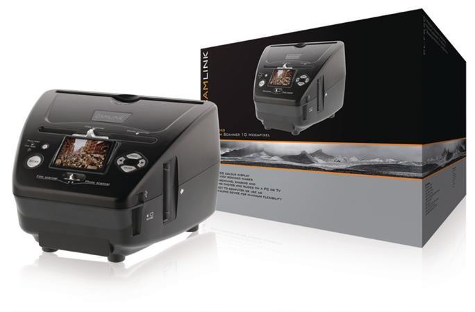 Camlink CL-FS50 - Filmový Skener 10 MPixel LCD