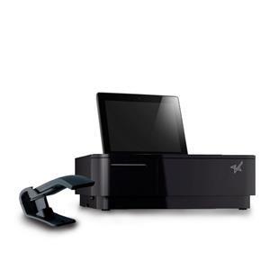 Základna Star Micronics mPOP tiskárna 58mm, zásuvka, skener, černá