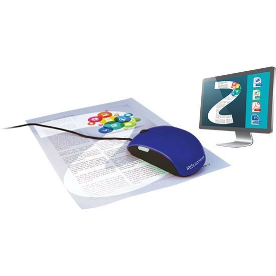 IRIS skener IRISCAN Mouse 2/ černá + modrý kryt/ myš s funkcí skeneru
