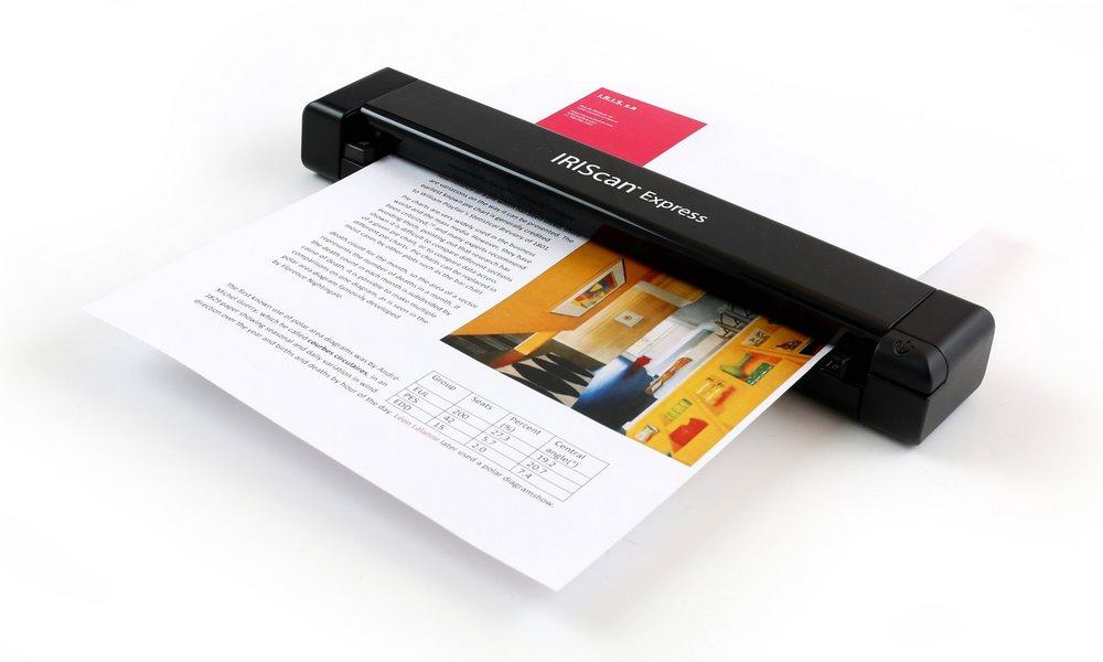 IRIS skener přenosný IRISCAN Express 4