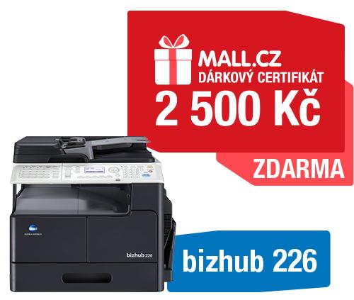Konica Minolta Bizhub 226 + MALL poukaz 2000Kč