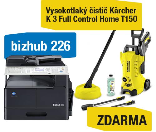 Konica Minolta Bizhub 226 set2 (Bizhub 226+OC-512+TN-118) + Kärcher vysokotlaký čistič K 3 Full control Home
