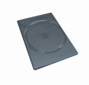 Krabička na 1x DVD - černá - slim 9mm