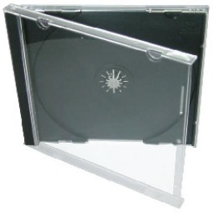 Krabička na 1x CD - černá - normal, jewelbox