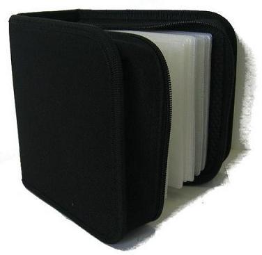 pouzdro:48 CD zapínací černé