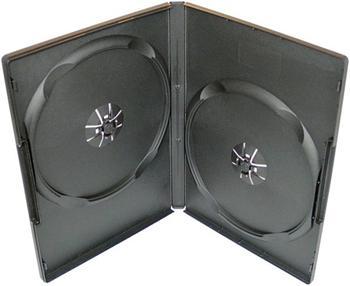 Krabička na 2x DVD - černá - slim 9mm
