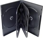 Krabička na 6x DVD černá