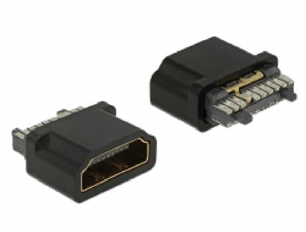 Delock Konektor HDMI-A samice